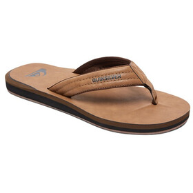 Quiksilver Carver Nubuck Men Sandals solid tan